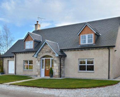 house builder Morayshire